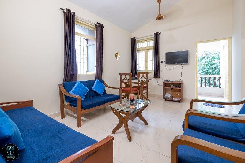 HIBISCUS - Turquoise Tree Homestays - Candolim, aluguéis de temporada em Sinquerim