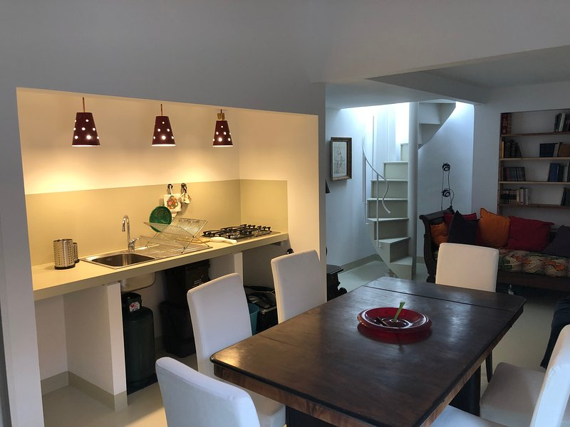 Mario Schifano -  A loft with kitchen on the terrace, holiday rental in Scilla