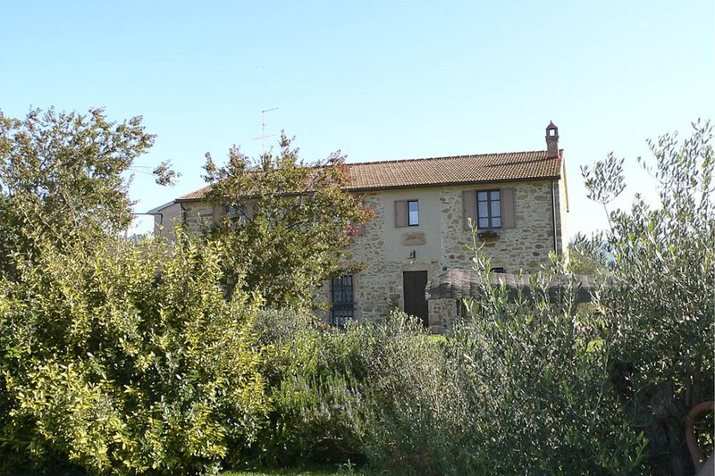Diaccialone Villa Sleeps 24 with Pool - 5820675, Ferienwohnung in Montorgiali