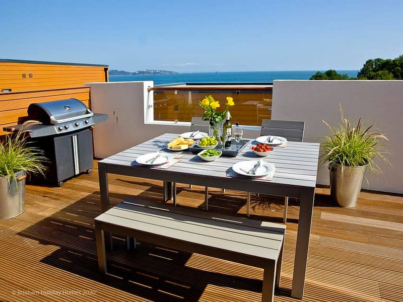Curlew 5 The Cove - 5 Curlew - The Cove. Modern apartment with large deck, BBQ a, location de vacances à Galmpton