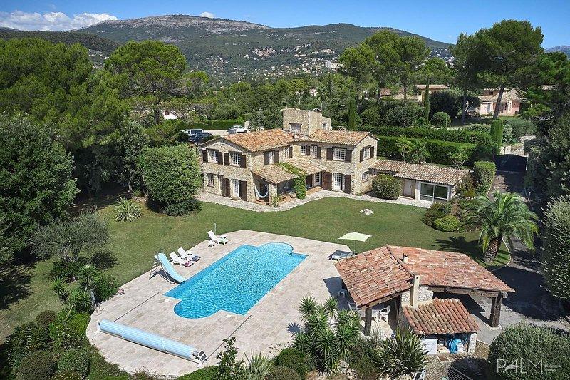 Beautiful Stone Villa, location de vacances à Grasse