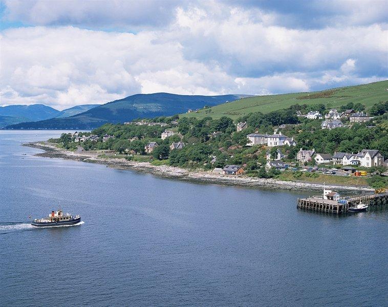 Benvenuti nello splendido borgo marinaro di Kilcreggan