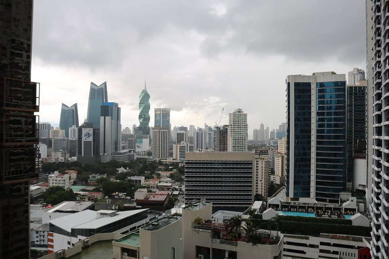 World class city scape, Panama City.