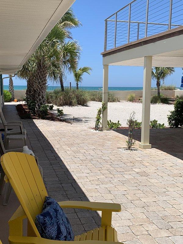Bienvenido a Just Beachy Retiro frente al mar!