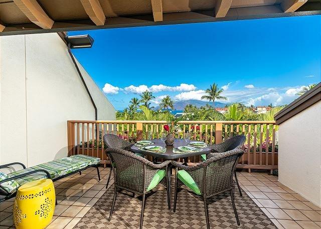 Maui Kamaole #H-211 2Bd/2Ba, Ocean View, A/C, Wifi, NEWLY RENOVATED! Sleeps 6 – semesterbostad i Kihei