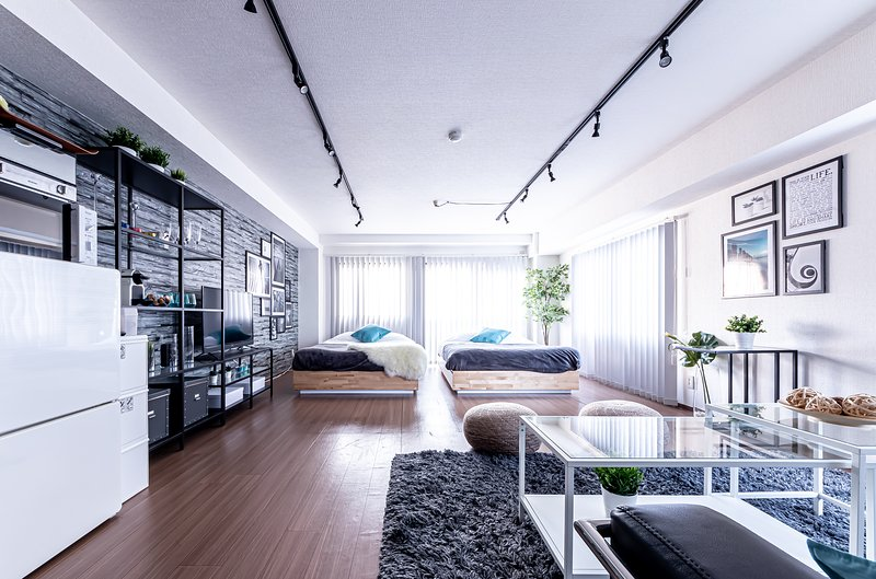 B6. Stylish & Modern Studio # SHINJUKU 7 min, vacation rental in Nerima