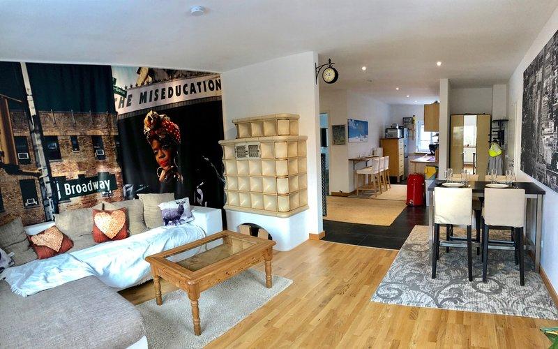 Modern and cozy furnishings