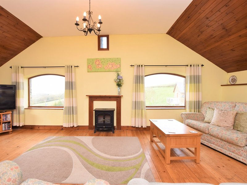 Sit back and relax in the lounge area and enjoy spectacular countryside views