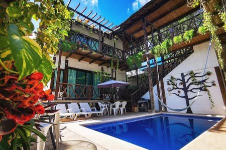 A beautiful wooden apt w/ full kitchen & pool 4ppl, vacation rental in Tulum