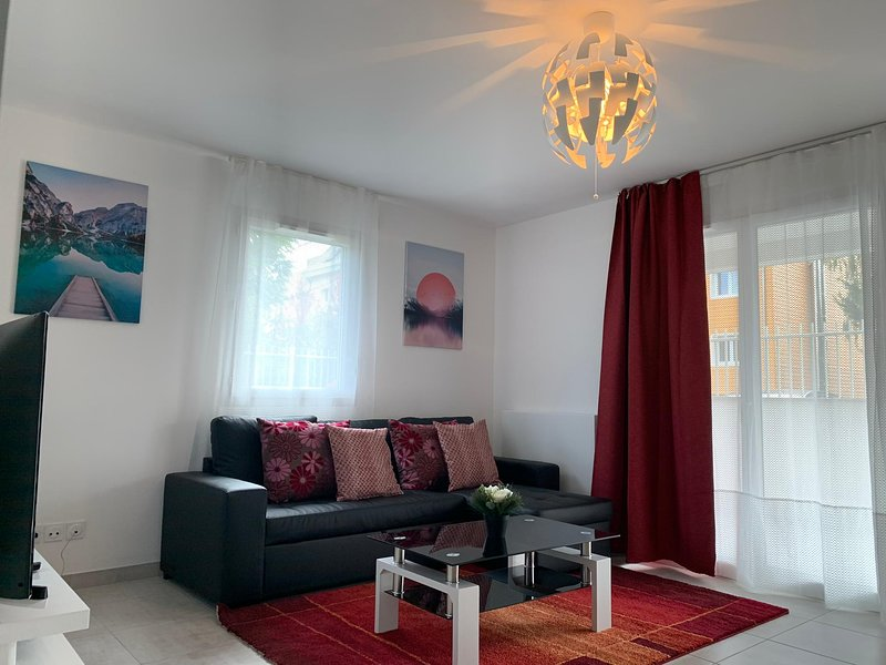 Beautiful apt with balcony & Wifi, vakantiewoning in Nyon