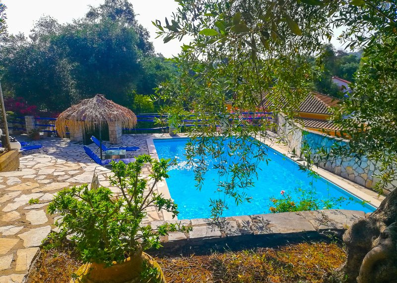Villa Alkinoos: Secluded, private pool, WiFi, A/C, holiday rental in Antipaxos