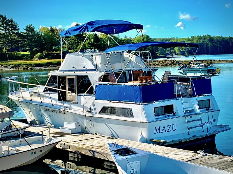 Maine Bed & Boat, MAZU, holiday rental in Nobleboro