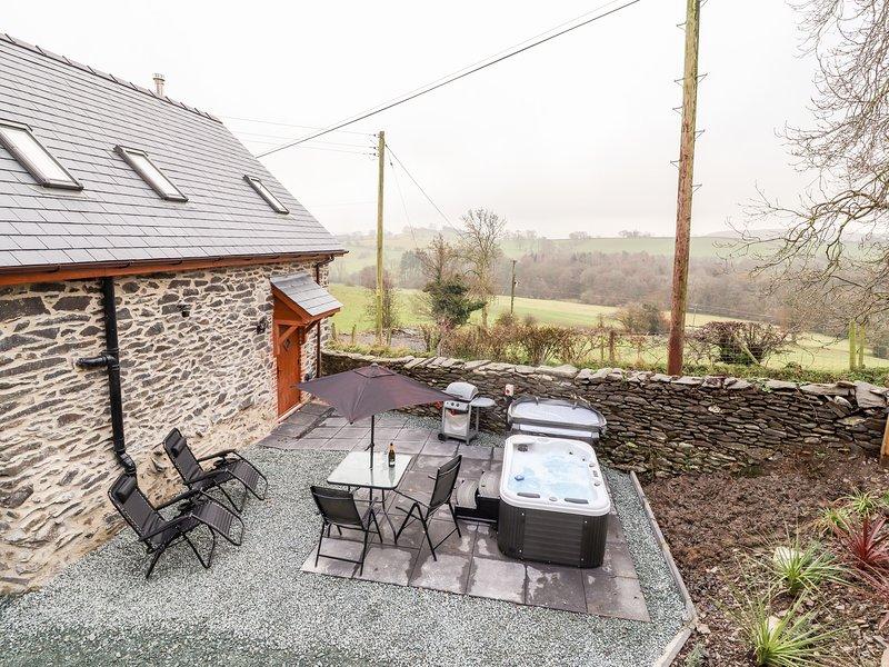 Stabl, Plas Moelfre Hall Barns, Llanrhaeadr-Ym-Mochnant, casa vacanza a Llangedwyn
