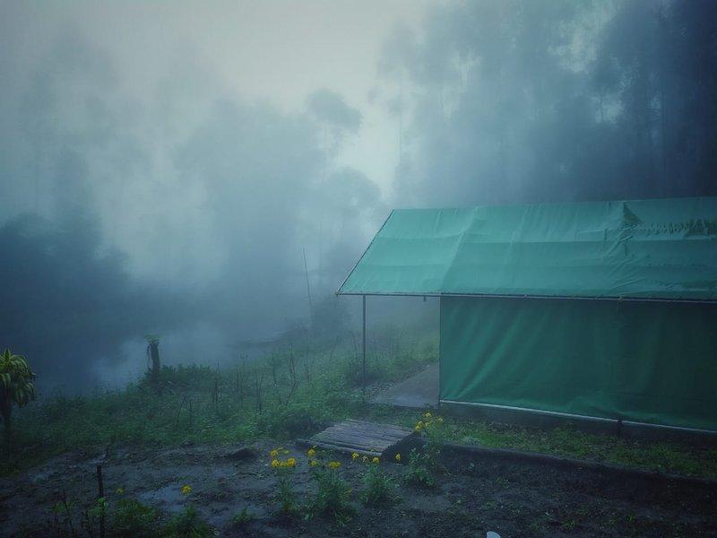 JUNGLE CAMP,KANTHALLOOR, holiday rental in Vattavada