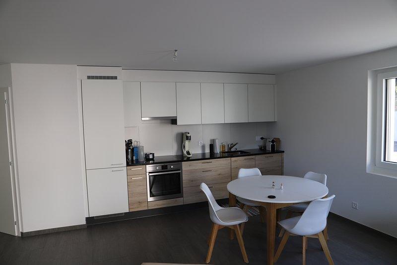 Splendide appartement à quelques minutes de Sion au coeur du vignoble valaisan, vacation rental in Grimisuat