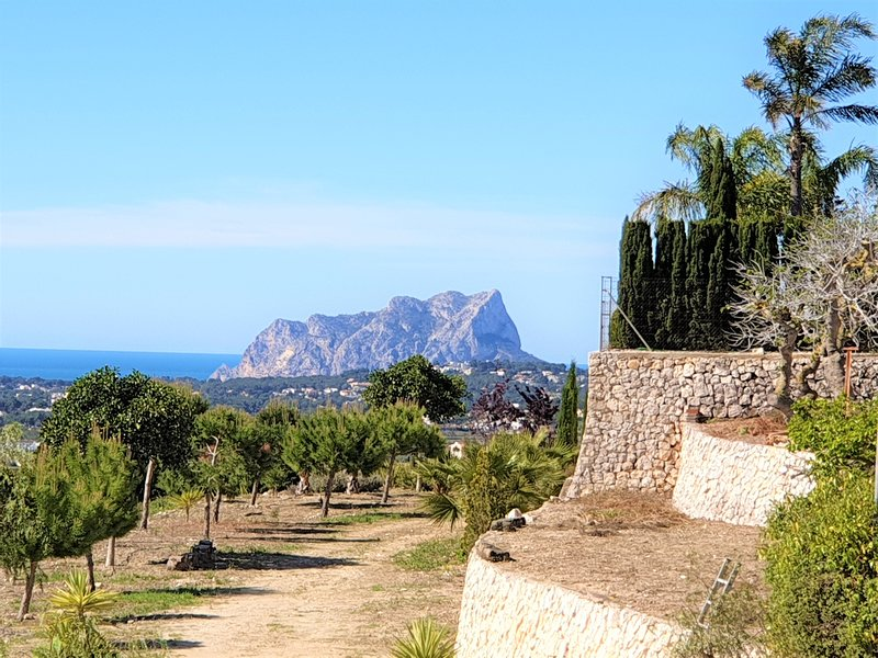 Appartment II with Seaview and Moraira, holiday rental in Benitachell