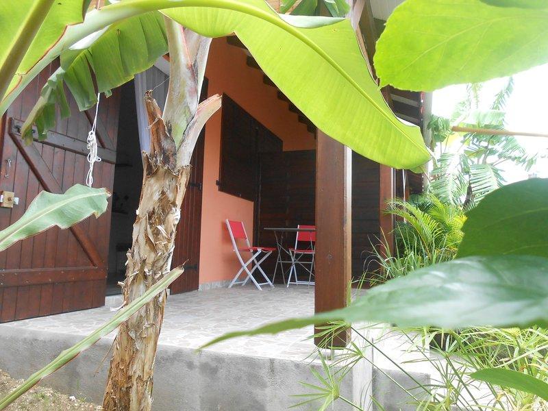Kaz à Ti Cam à deux pas de la mer, holiday rental in Marie-Galante