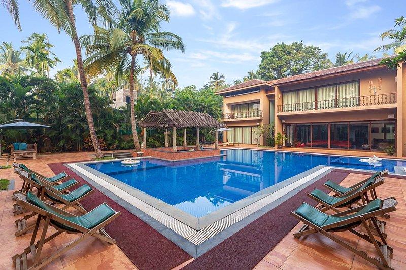 Casa del Palms by Vista Rooms, aluguéis de temporada em Raigad District