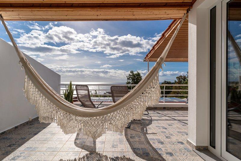 Balcon privé avec vue