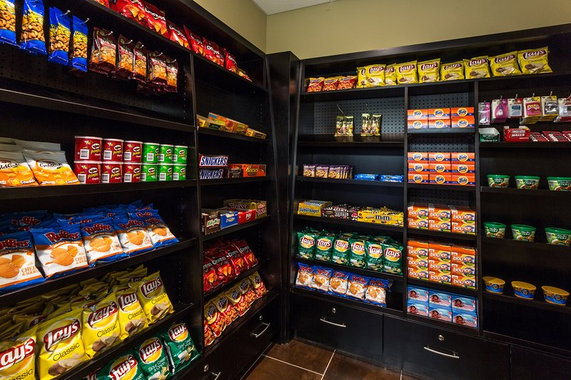 Pick up a treat at the on-site Pantry.