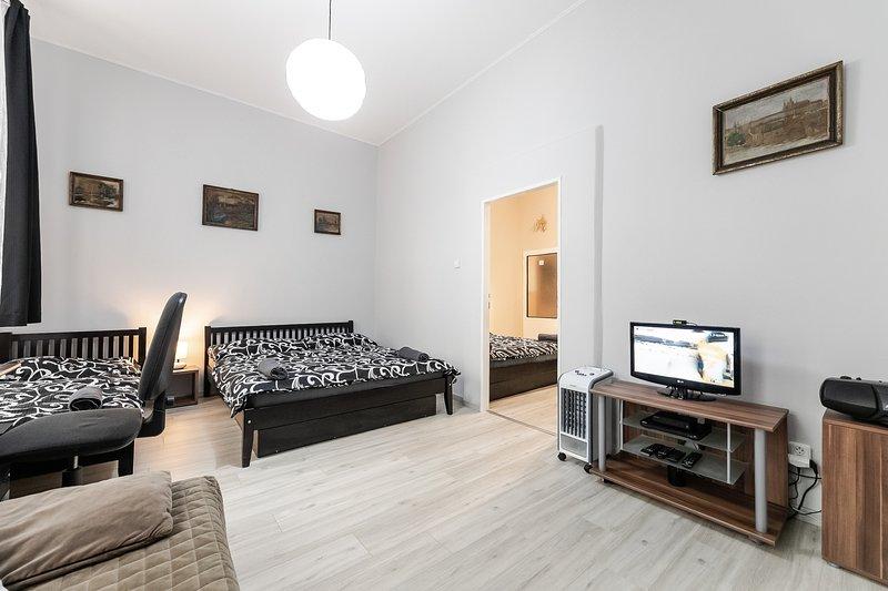 2B apartment Prague Letna, vacation rental in Karlstejn