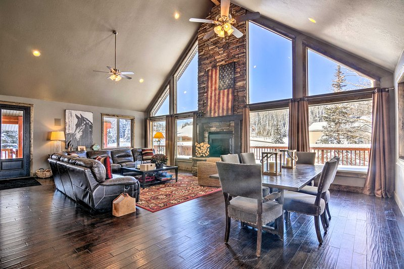 Group Ski Getaway Near the Base of Chairlift 8!, holiday rental in Brian Head