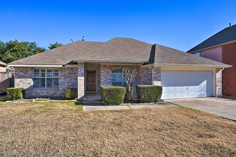 Your next trip to the Lone Star state begins at this McKinney vacation rental!