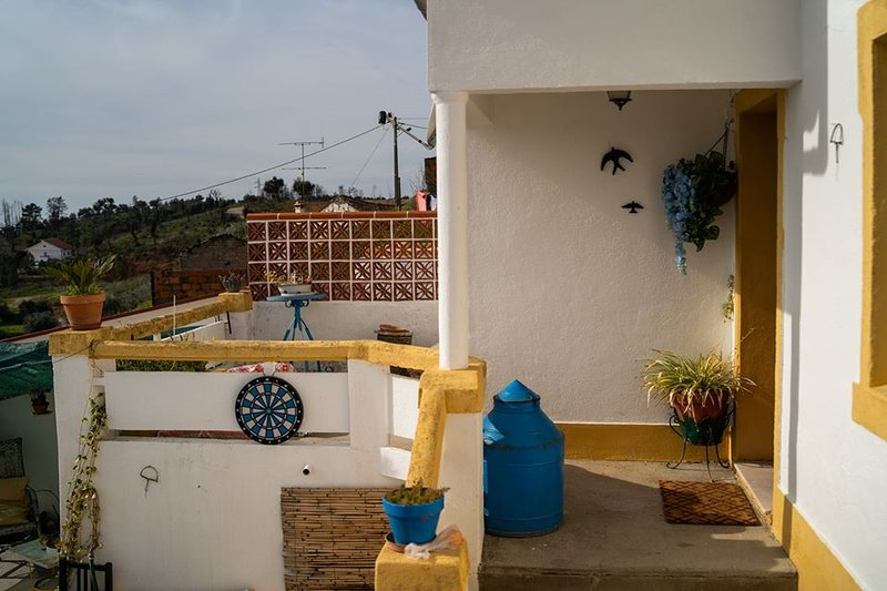 Muy bonita terraza para leer un libro y viajar sin salir del lugar!