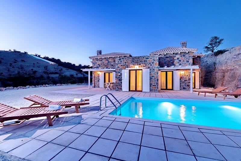 Palazzo complex villas, aluguéis de temporada em Agia Paraskevi