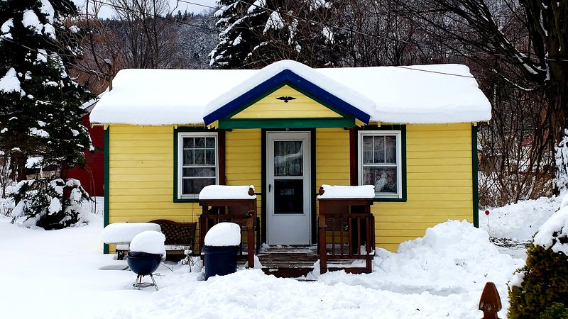 Catskill Bungalow, Tiny House, Cozy Getaway Cabin for 2 by Hunter and Windham, vacation rental in Roxbury