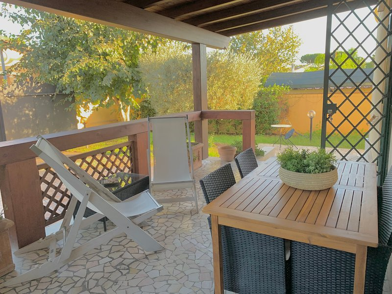 Private Cottage between Rome and sea, Ferienwohnung in Castel Romano