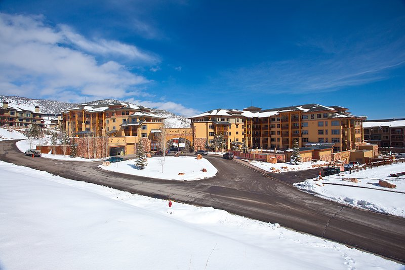 Enjoy the shared pool, hot tubs, & gym at this beautiful Canyons Village condo! Chalet in Park City