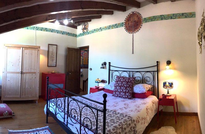 Arboles, La Casa de las Chimeneas, alquiler de vacaciones en Ojedo