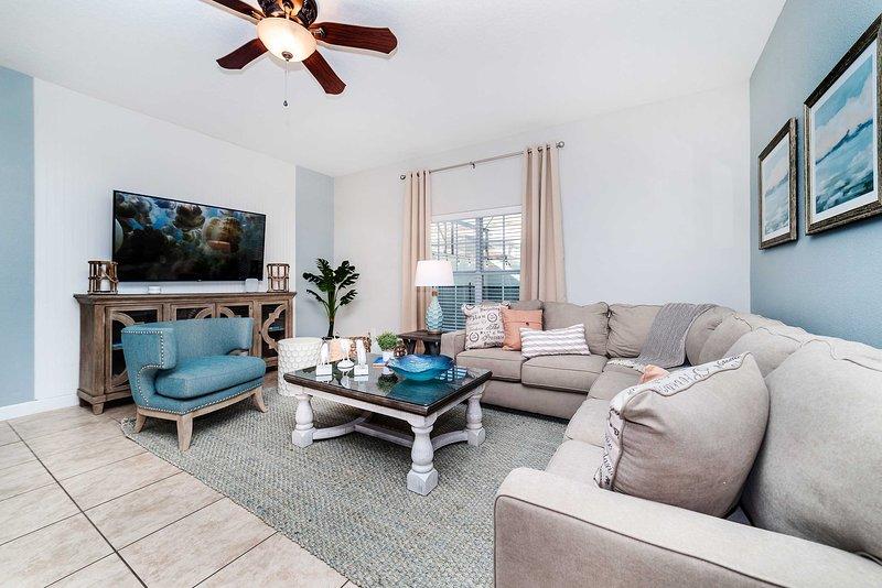 Leve sua família a este apartamento moderno e luminoso para 12 pessoas.