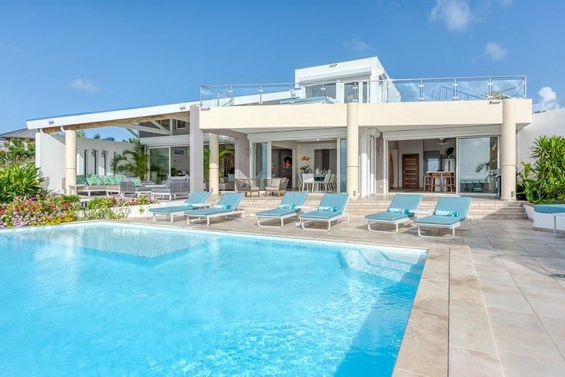 Villa Ocean 5 | Ocean View - Located in Fabulous Happy Bay with Private Pool, aluguéis de temporada em La Savane