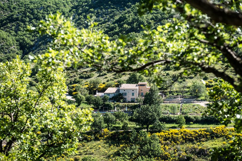 GITE DE CHARME 8 PERSONNES AU COEUR D'UN DOMAINE DE 100 HECTARES, holiday rental in Montauban-sur-l'Ouveze