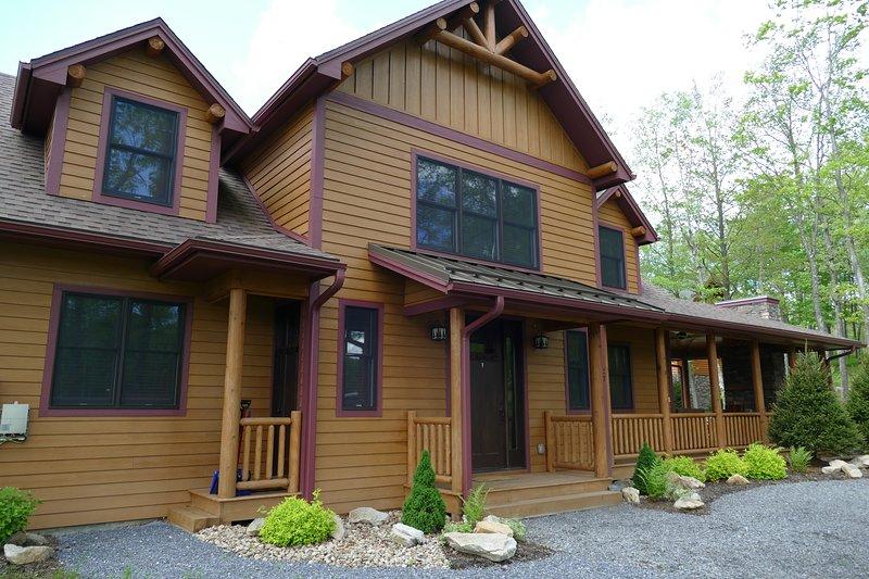 Your Mountaintop Cabin awaits
