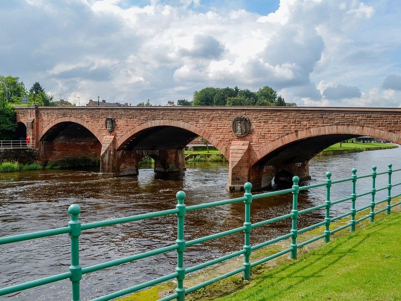 River View, holiday rental in New Abbey
