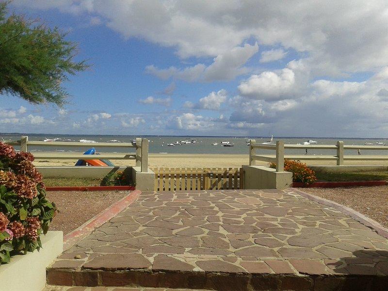 Appartement sur le bassin front de mer, location de vacances à Arcachon