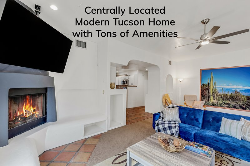 Centrally located modern Tucson Home with Tons of Amenities