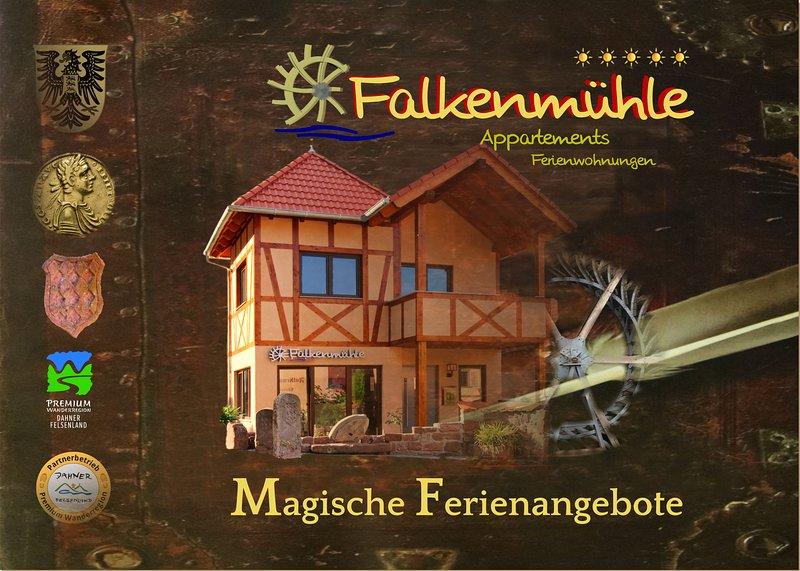 Appartement Adelheid auf der Falkenmühle, holiday rental in Dorrenbach