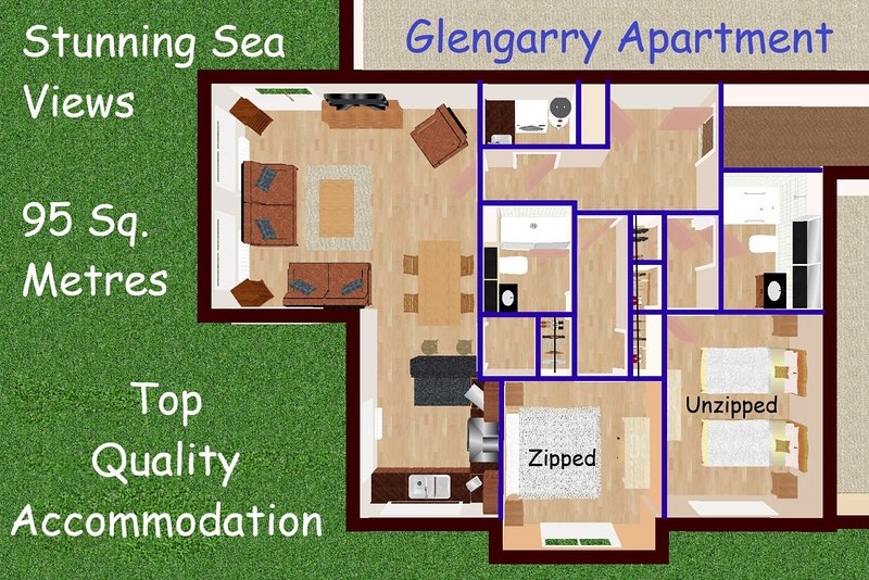 16 Links Apartments, vacation rental in Brora