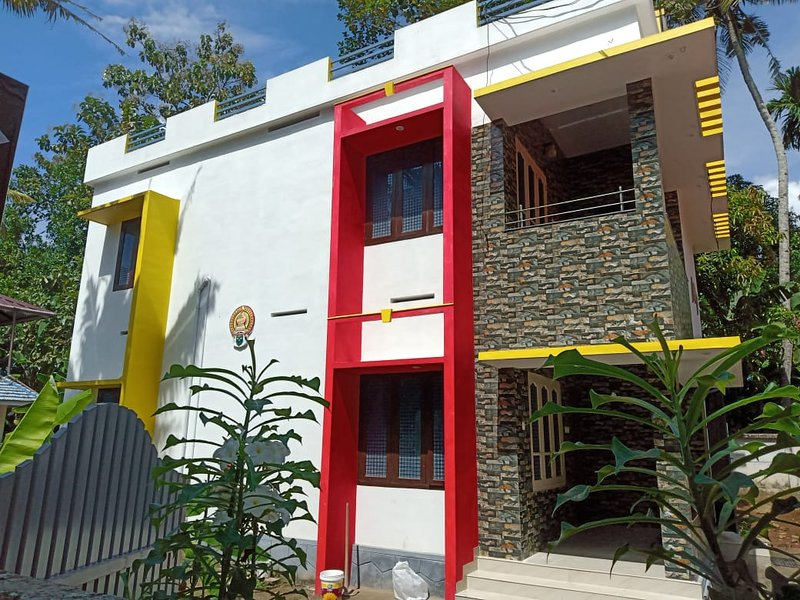 Quality Inn 1BHK Apartment with AC, holiday rental in Varkala Town