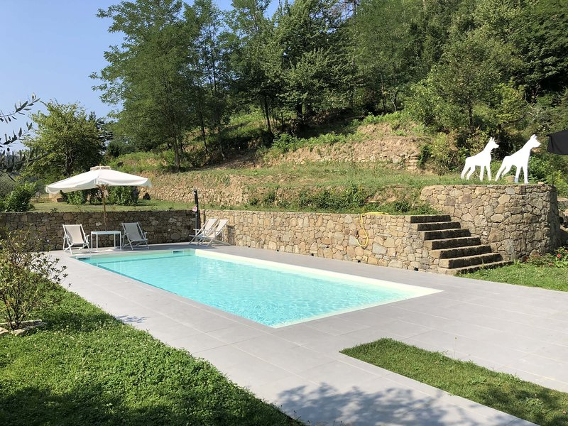 VILLA LIGURE 6 Pax, Pool, A/C, WI-FI, BBQ, near to Cinque Terre, vakantiewoning in Rocchetta di Vara