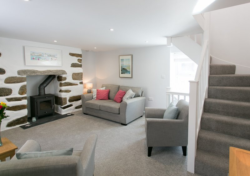 The Nook, holiday rental in Porthleven