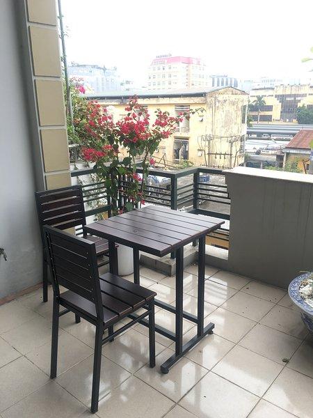 Tendrás momentos relajantes en nuestra área de café en la azotea.