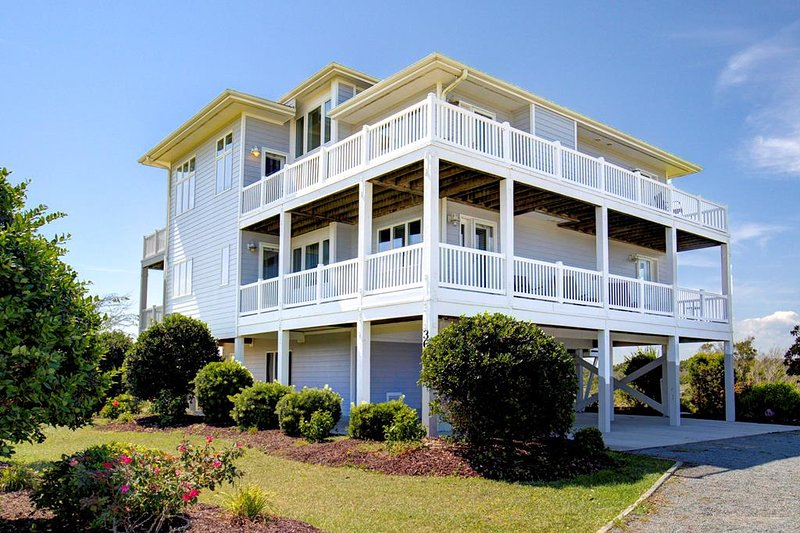 Island Drive 3659 Oceanview! | Elevator, Internet, Fireplace, Game Equipment, alquiler de vacaciones en Topsail Island