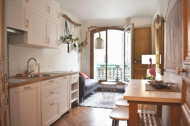Bel appartement confortable - 18ème, alquiler de vacaciones en París