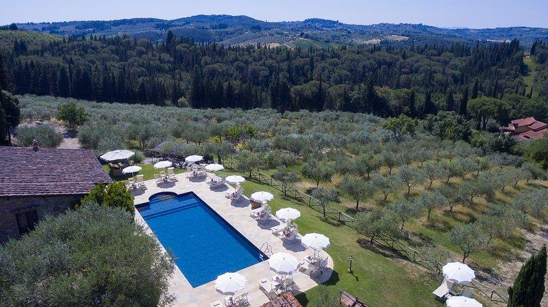 Farmhouse 3+2, holiday rental in Strada in Chianti