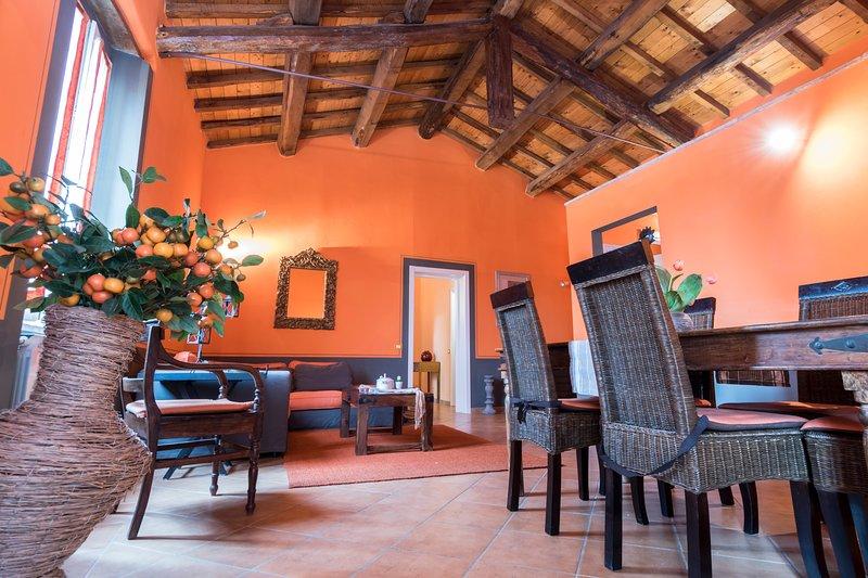Luxury family apartment, alquiler vacacional en Torricella di Magione